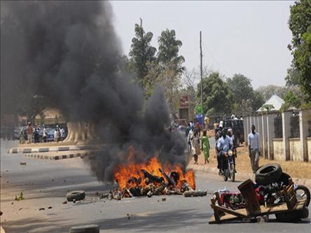 37 killed in clashes in central Nigeria
