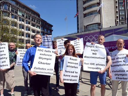 "Angry Brit students hold ""Austerity Olympics"""