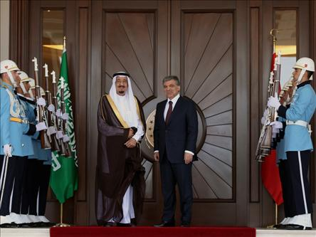 Saudi Crown Prince holds talks in Ankara